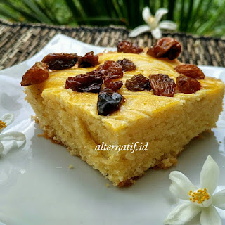 Resep Butter Cake Panggang Anti Gagal