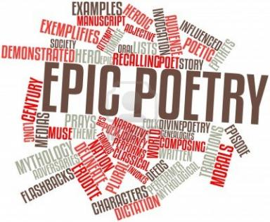 English Language And Literature Epic Poetry And Its
