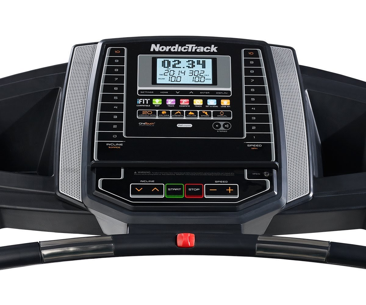 Horizon T101 Treadmill Belt Adjustment: Health And Fitness Den: Nordic Track T 6.5 S Treadmill, Review