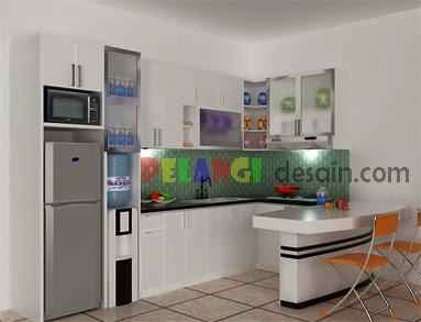 Kitchen Set Berbentuk Huruf U