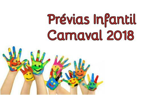 Prévias do Carnaval para Criança em Pernambuco