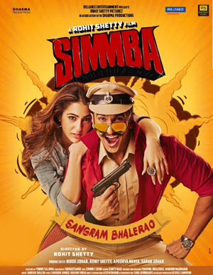 Simmba 2018 Hindi Full Movie Pre-DVDRip 1.4Gb x264 Best