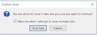 Cara Menampilkan Popup Confirm close Pada Mozilla Firefox Saat Close