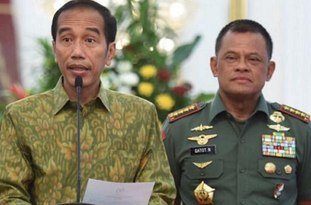 Progres 98: TNI dan Rakyat Harus Kompak Tolak Nafsu Jokowi Mencopot Panglima TNI