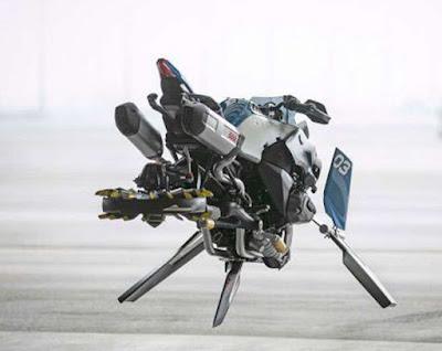 ಬಿಎಂಡಬ್ಲ್ಯು ಹಾರುವ ಬೈಕ್ | BMW Lego R 1200 GS Hover Bike | TekkiPedia