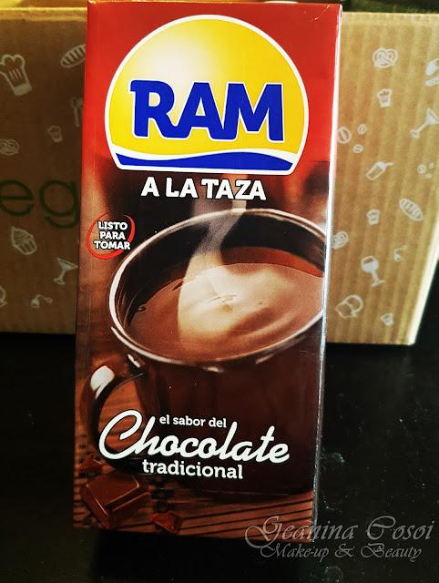 Ram chocolate a la taza Caja Mensual Degustabox - Enero 2017