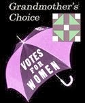 Grandmother's Choice logo - Votes for Women