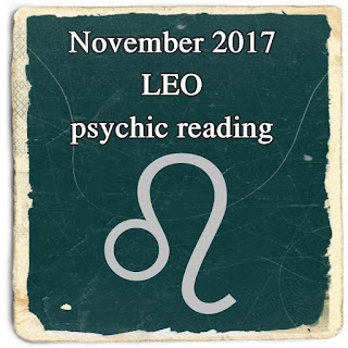 November 2017 LEO psychic reading oracle