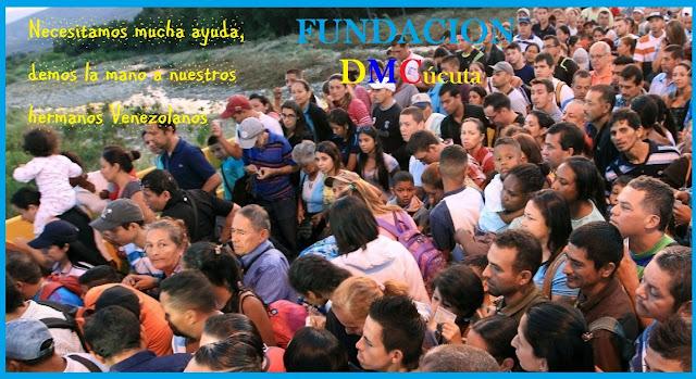 Hermano Venezolano te damos la mano Fundación DMC