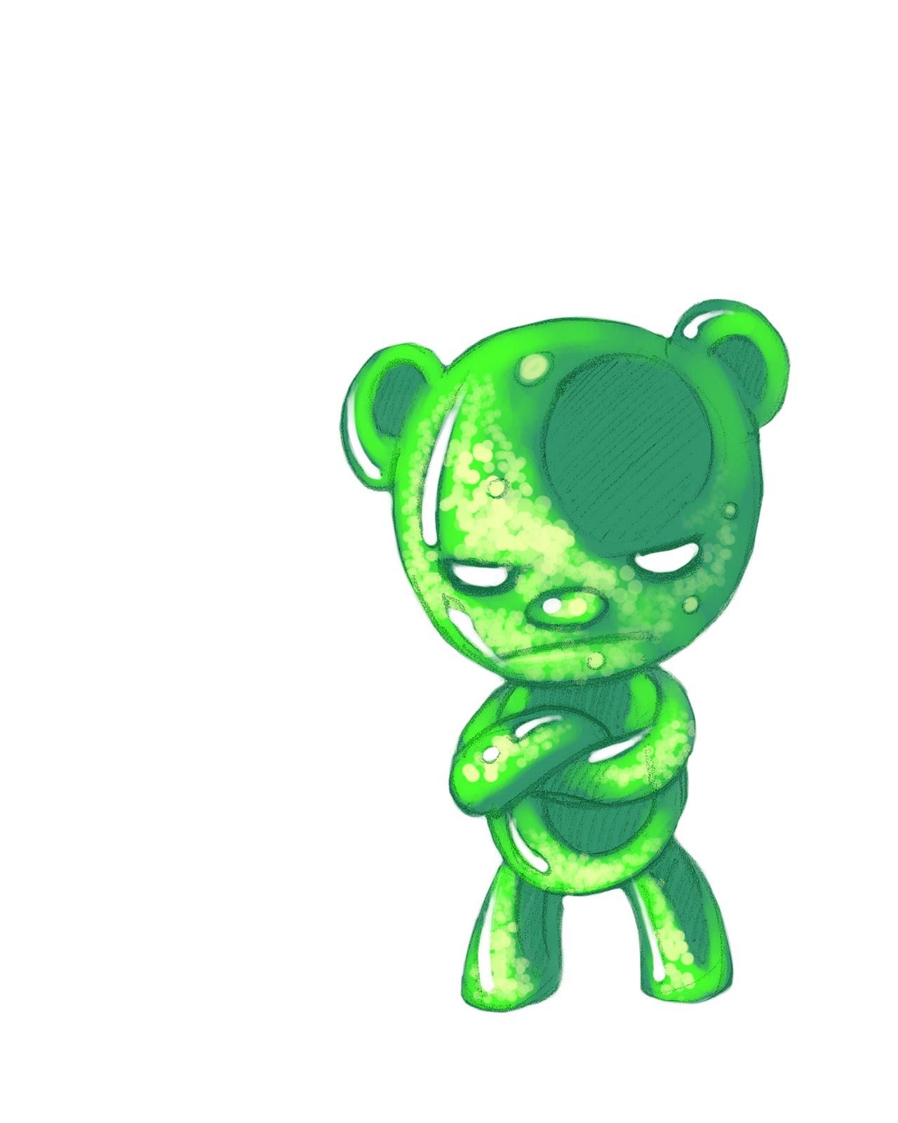 Gummy Bear Cartoon Wallpaper