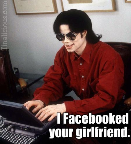 MJ Facebooked