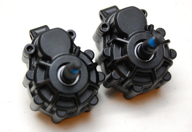 Traxxas TRX-4 axle gearboxes