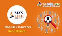 Max Life Insurance Recruitment