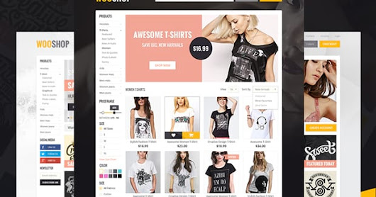5 Responsive eCommerce WordPress Themes of the Year