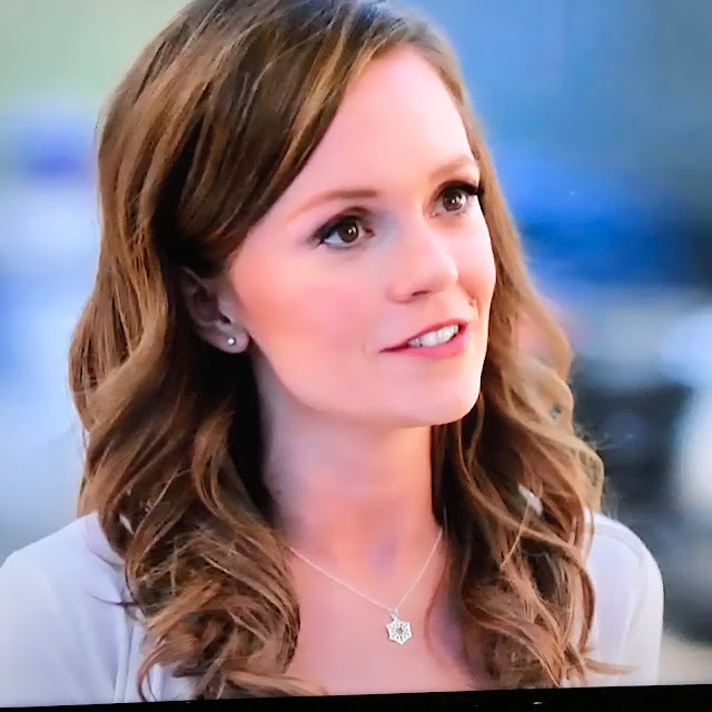 Rachel Boston snowflake necklace