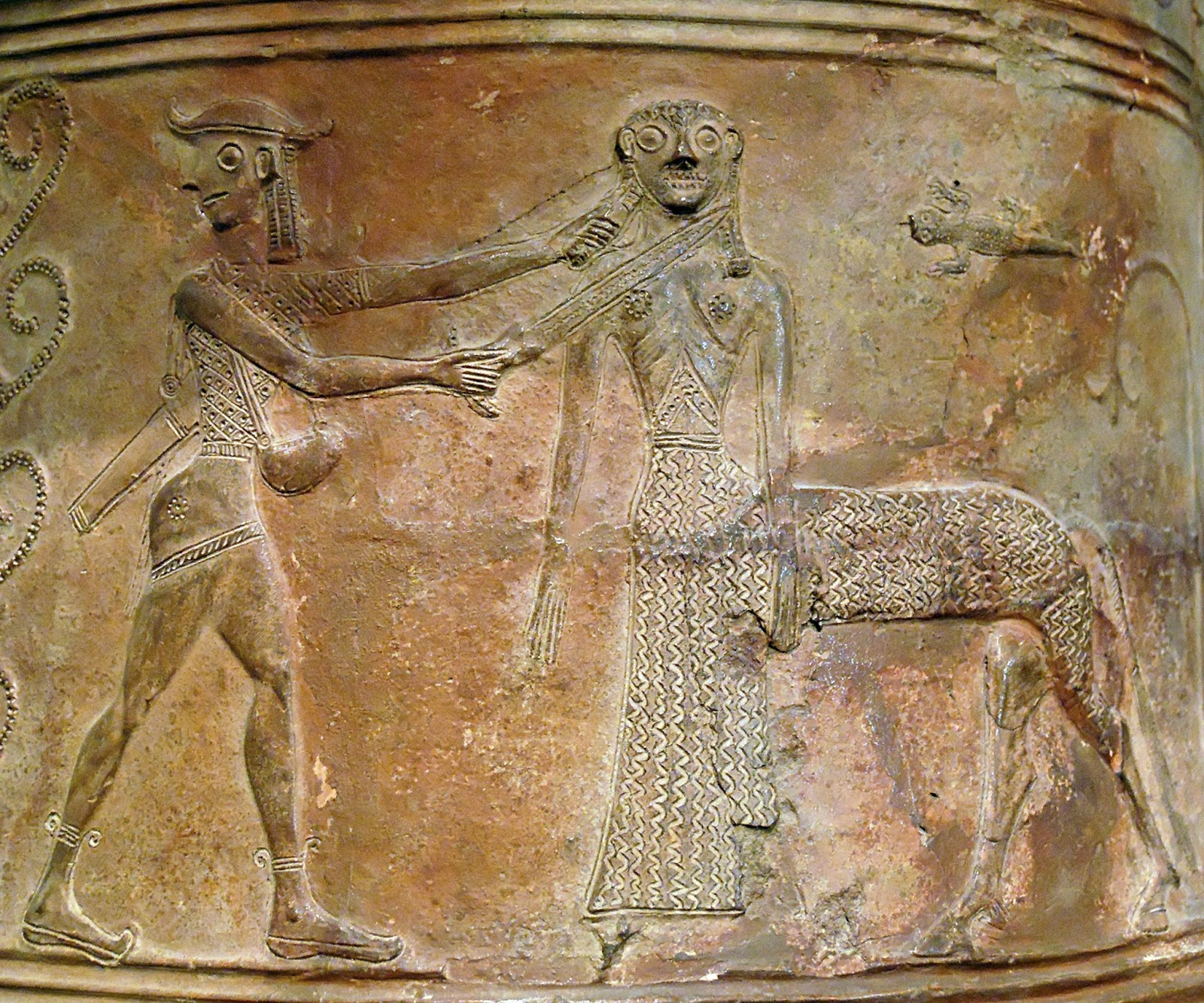 kentaurides female centaur