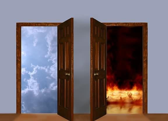 Mateus 7:13 Entrem pela porta estreita, pois larga é a porta e amplo...