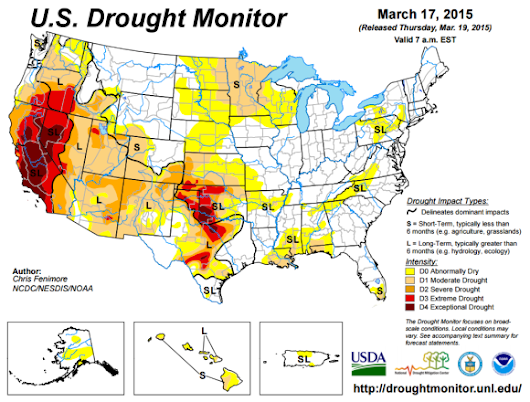 Record Drought Possibly Record Wildfires