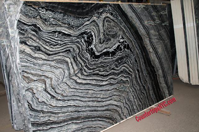 Kenya Black Marble Slabs NYC