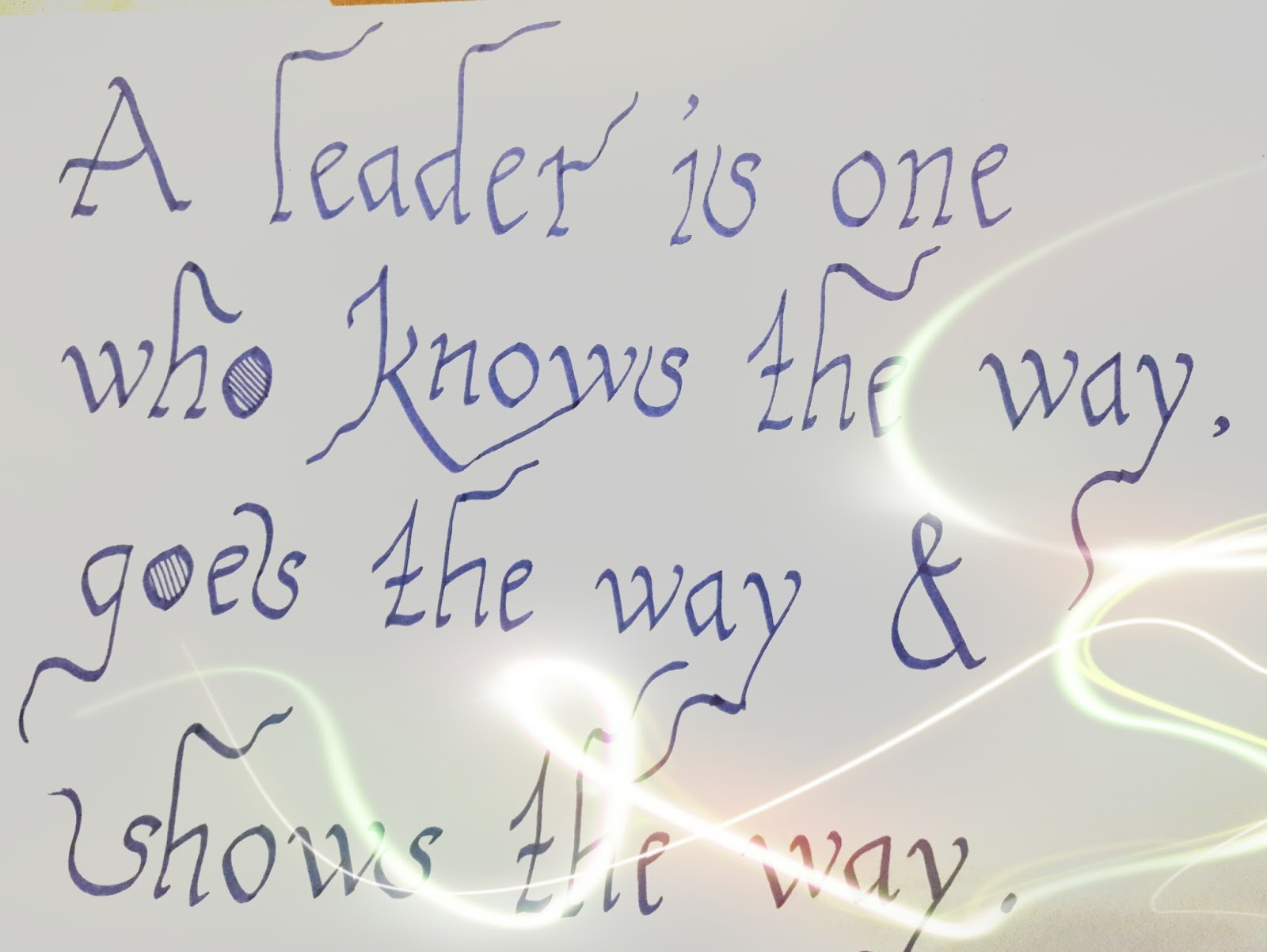 here are some of the thoughts written by me in calligraphy