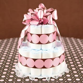 bolo de fralda delicado