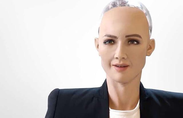 Sofía (Sophia) es posiblemente el humanoide mejor realizado hasta el momento