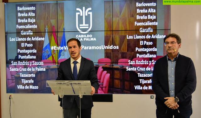 El Cabildo anuncia líneas de ayudas para PYMES, Autónomos y Ganadería