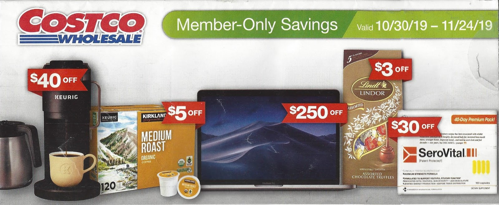 November 2019 Costco Coupon Book