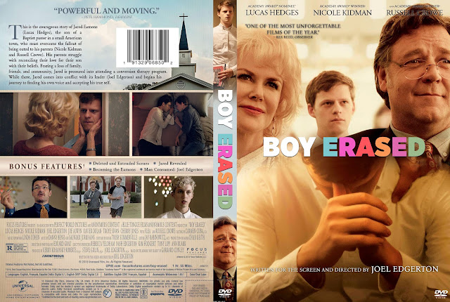 Boy Erased DVD Cover