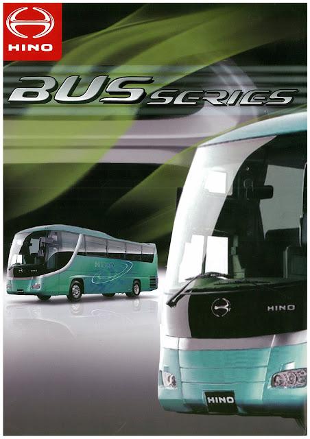 brosur hino bus series