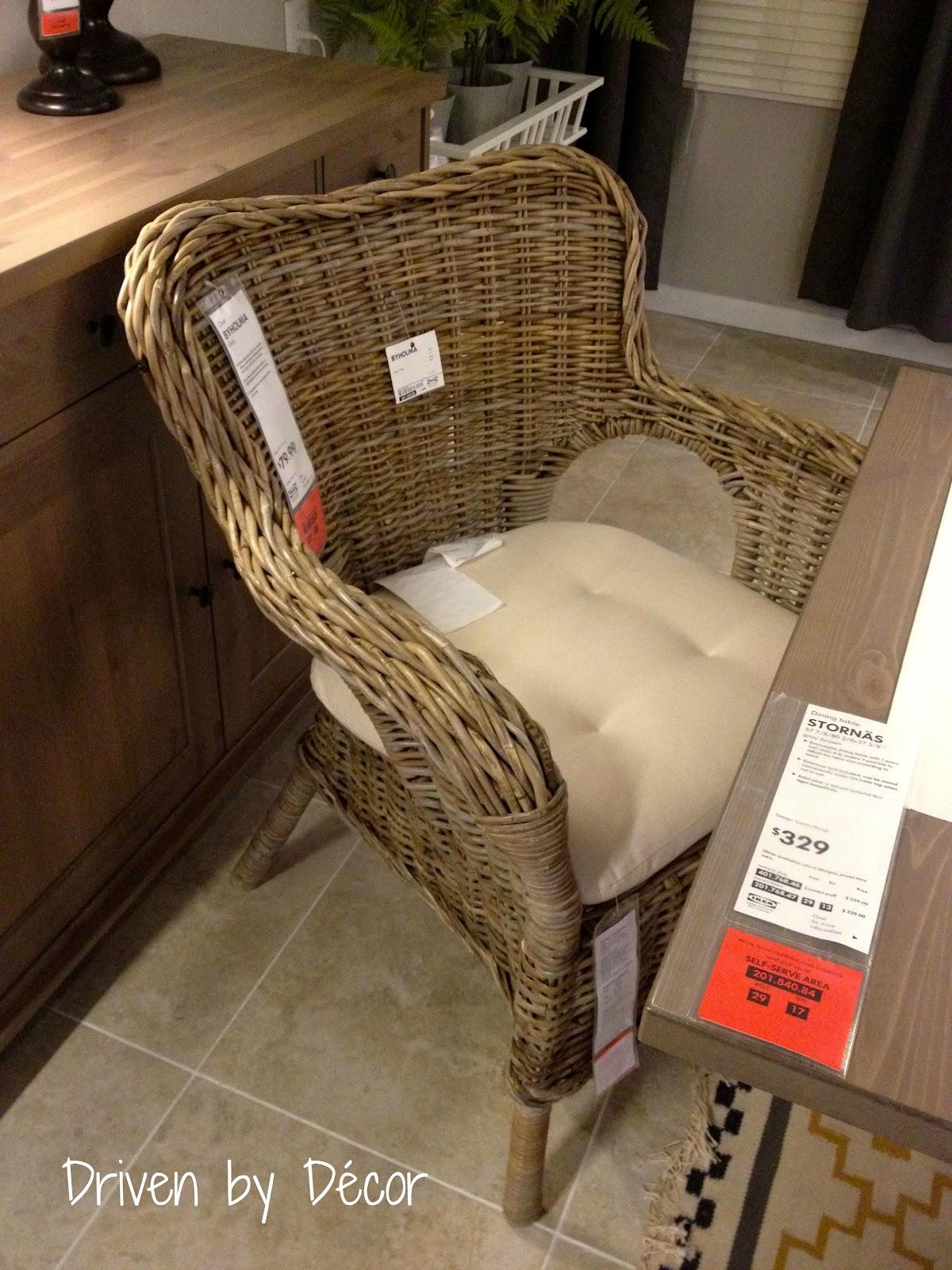 IKEA Wicker Dining Chairs