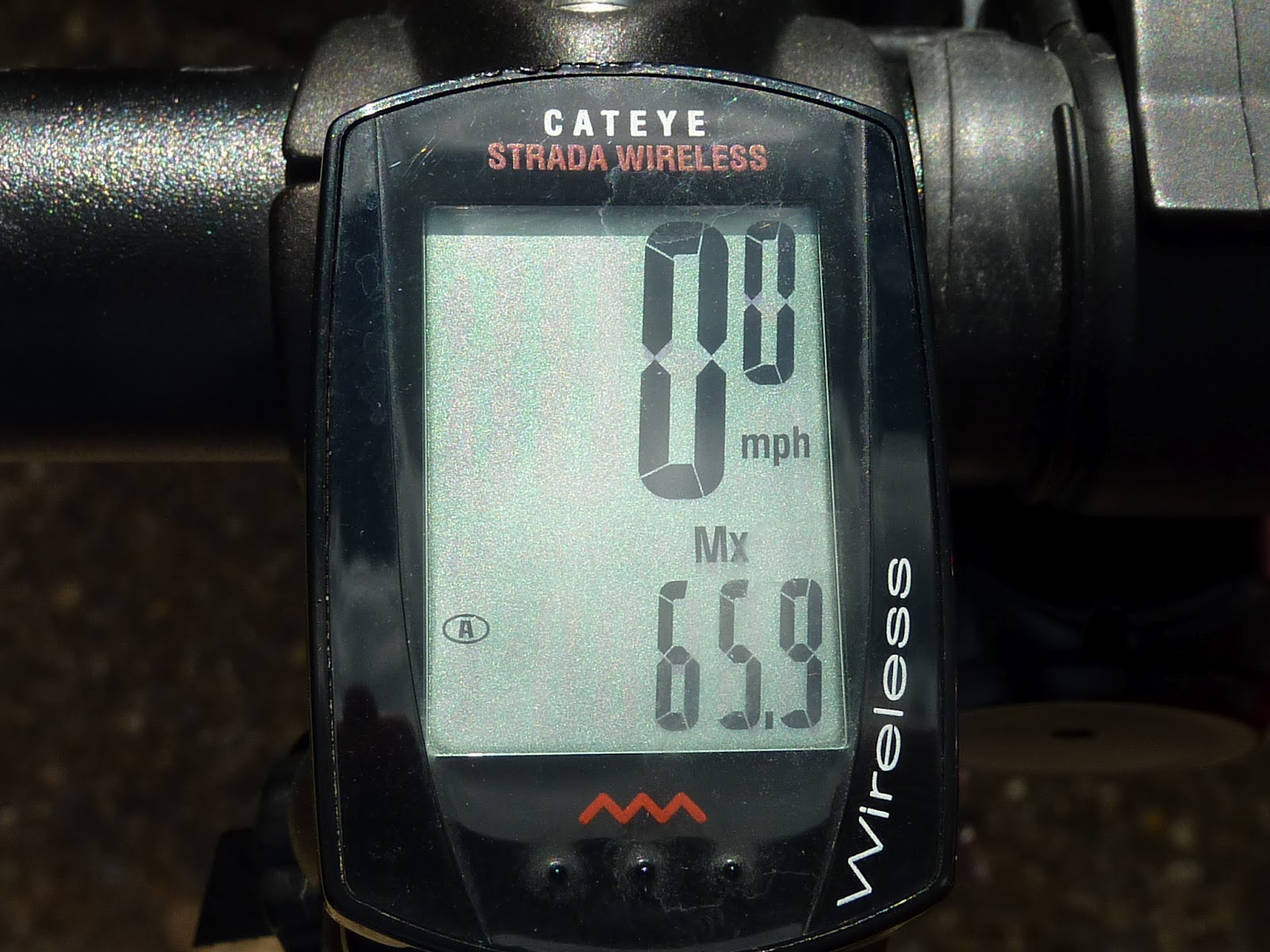 659mph And Time To Review Cateye Strada Wireless The Cycle Spidometer Cadence