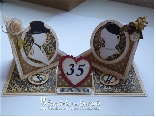gerda's freubels en frutsels: 35 jaar getrouwd!