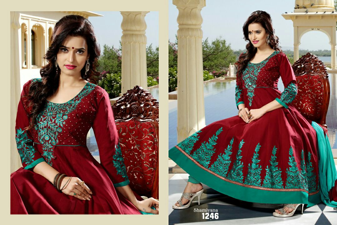 Shamiyana – New Patterns Embroidery Ready To Wear Suit