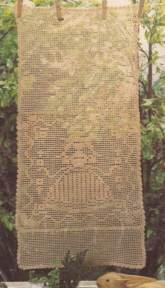 Panel decorativo a crochet