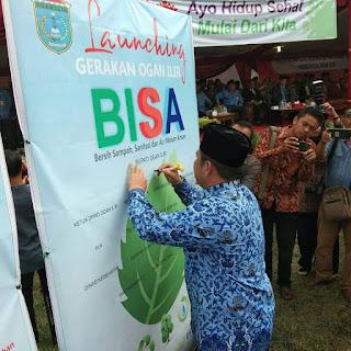 Peringatan HKN Ke 54, Bupati OI Launching Gerakan Ogan Ilir BISA