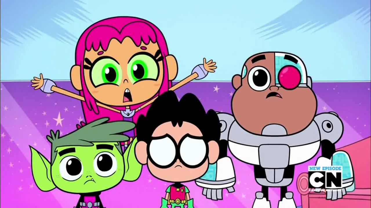 New episodes of teen titans