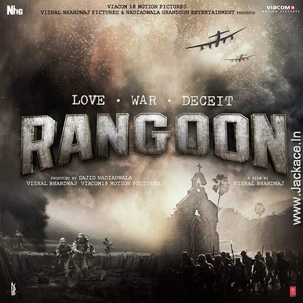 Vishal Bhardwaj's Rangoon First Look Poster 1