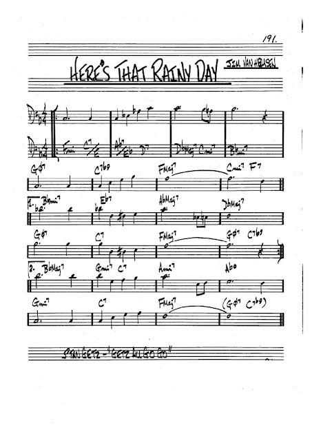 Partitura Trombón Jim Van Heusen