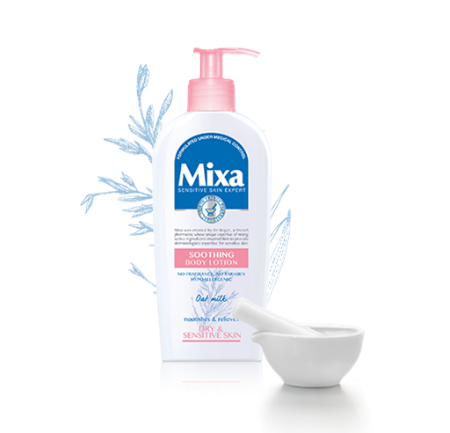 Ingredient Review: Mixa - body care for sensitive skin?
