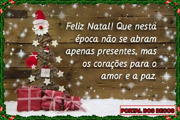 Portal dos Decos deseja um Feliz Natal a todos boas Festas!!!