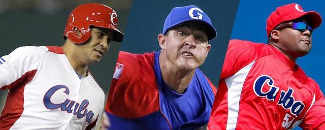 Los cubanos no prometen mucho para este Clásico, pero de darse el milagro ¿Cual de estos tres sería el héroe?