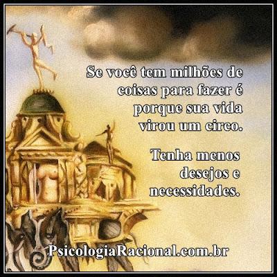 Você transformou sua vida em um circo? Você tem milhões de coisas para fazer? Minimalismo
