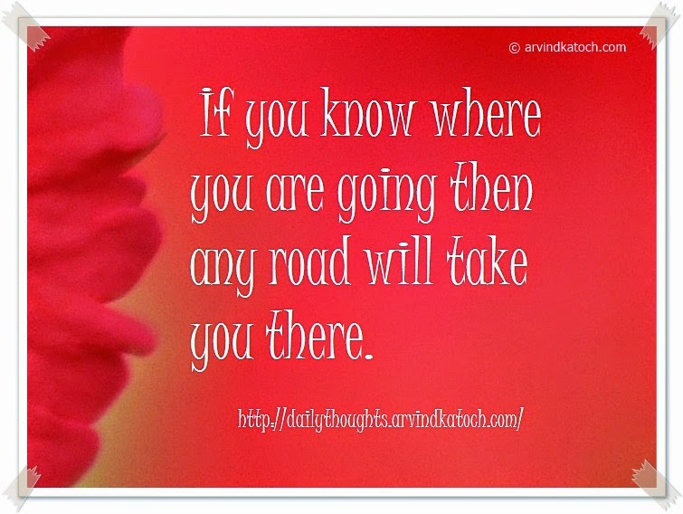 road, going, Daily Quote,