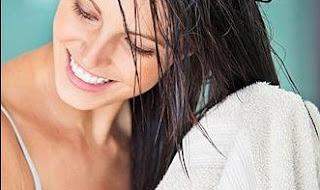 kenali rambut kering atau basah