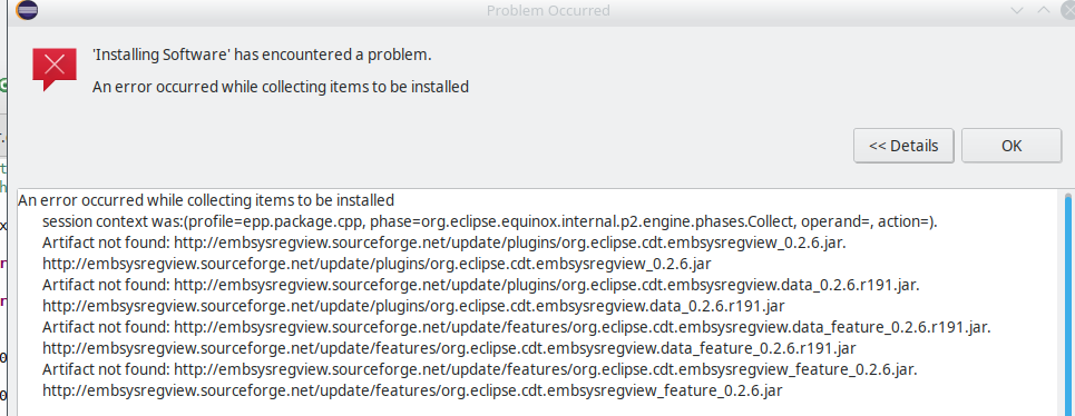 Embsysregview - Eclipse plugin and how to install it
