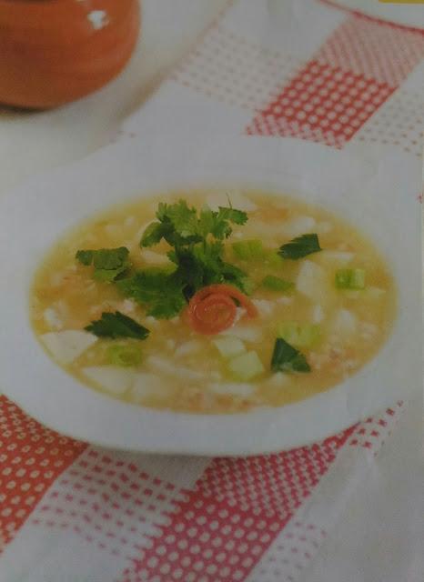 Resep Sup Tofu Udang