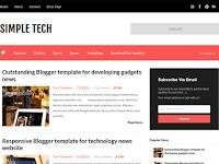 Template Simple Tech