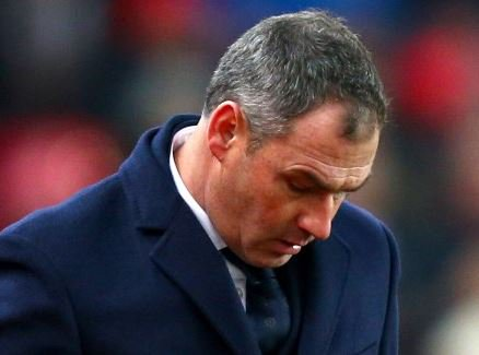 English club, Swansea sacks head coach, Paul Clement