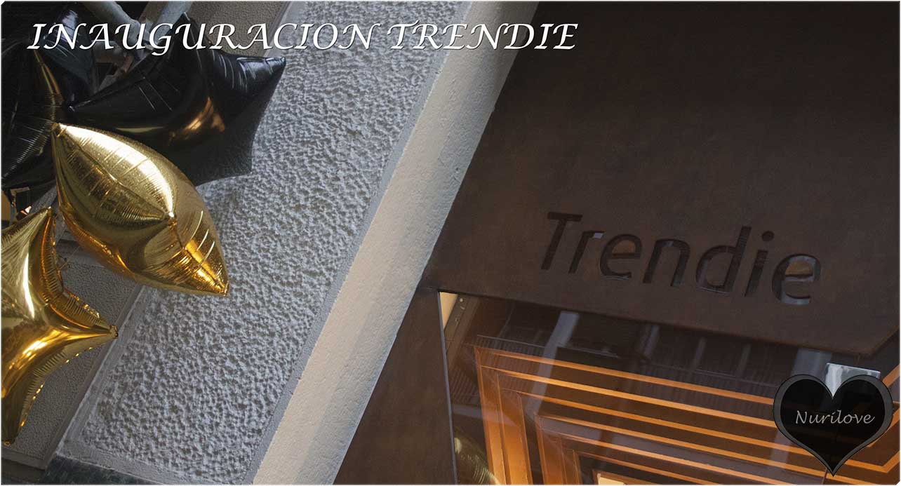 inauguración de Trendie, una tienda en Bilbao que sigue las últimas tendencias